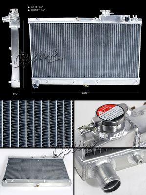 Mazda Miata 1990-1997 Performance Aluminum Radiator