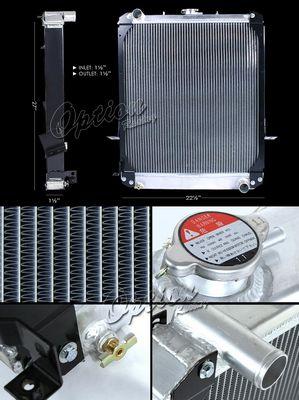 Isuzu NPR 1997-2002 Performance Aluminum Radiator