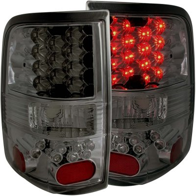 ford f150 2004 2008 smoked led tail lights a117sny9195. Black Bedroom Furniture Sets. Home Design Ideas
