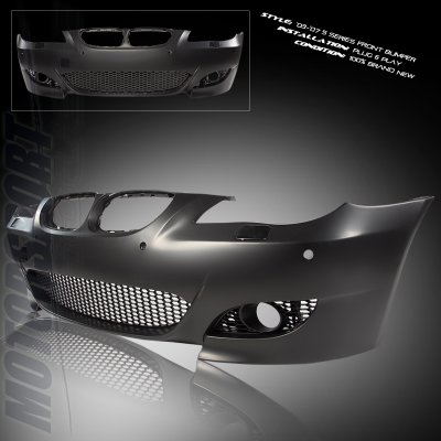 Toyota Auto Parts >> BMW E60 5 Series 2004-2007 M5 Style Front Bumper with Fog Light Cover | A101YPJ7197 ...