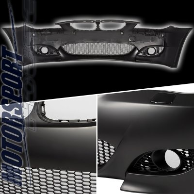 BMW E60 5 Series 2004-2007 M5 Style Front Bumper with Fog Light Cover