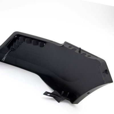 Ford F150 2009-2014 LED DRL Front Upper Bumper Cover Black