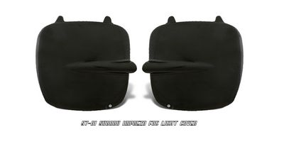 Subaru Impreza 1998-2001 Black Fog Light Covers