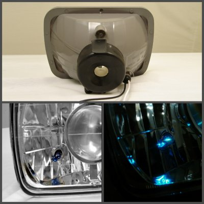 Isuzu Amigo 1989-1994 7 Inch Sealed Beam Projector Headlight Conversion