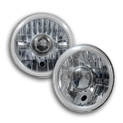 Hummer H1 2002-2006 7 Inch Sealed Beam Projector Headlight Conversion