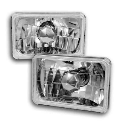 Dodge Dakota 1987-1990 4 Inch Sealed Beam Headlight Conversion