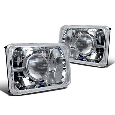 Mitsubishi Eclipse 1990-1991 4 Inch Sealed Beam Projector Headlight Conversion