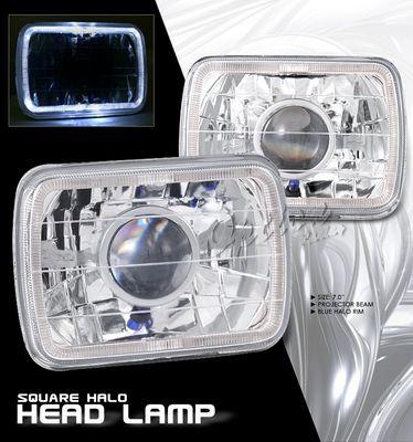 Isuzu Amigo 1989-1994 7 Inch Halo Sealed Beam Projector Headlight Conversion