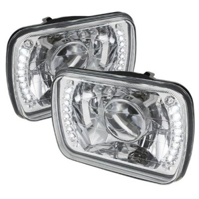 Chevy Corvette 1984-1996 LED Sealed Beam Projector Headlight Conversion