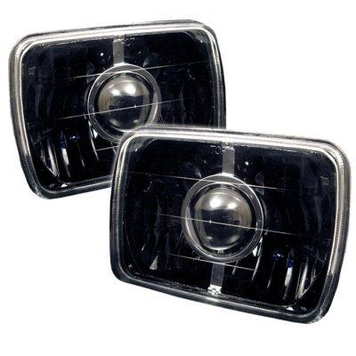 Buick Reatta 1988-1991 Black Sealed Beam Projector Headlight Conversion