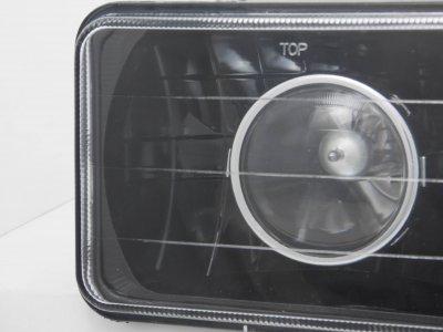Cadillac Eldorado 1975-1985 4 Inch Black Sealed Beam Projector Headlight Conversion