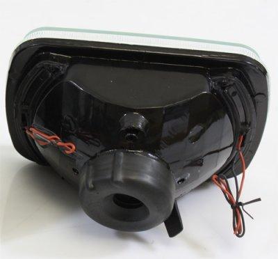 GMC Safari 1986-2004 White LED Sealed Beam Headlight Conversion