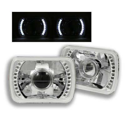 Acura Integra 1986-1989 LED Sealed Beam Headlight Conversion