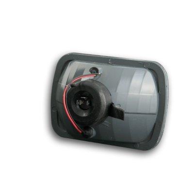 GMC Safari 1986-2004 Black Sealed Beam Headlight Conversion