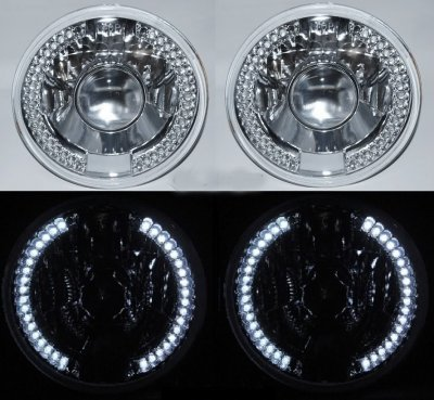 Hummer H1 2002-2006 7 Inch LED Sealed Beam Projector Headlight Conversion