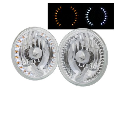 Dodge Dart 1972-1976 LED Sealed Beam Headlight Conversion Amber LED Signal Lights