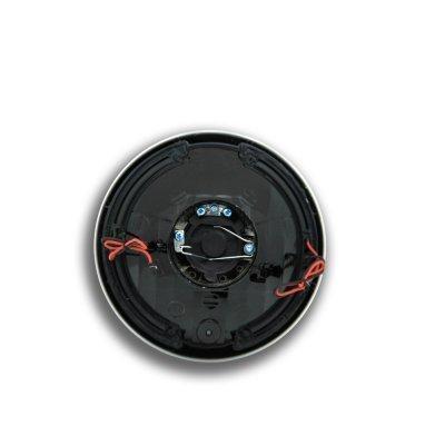 Mazda Miata 1990-1997 Amber LED Black Chrome Sealed Beam Projector Headlight Conversion