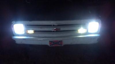 Sax on Dodge Ram Led Fog Lights