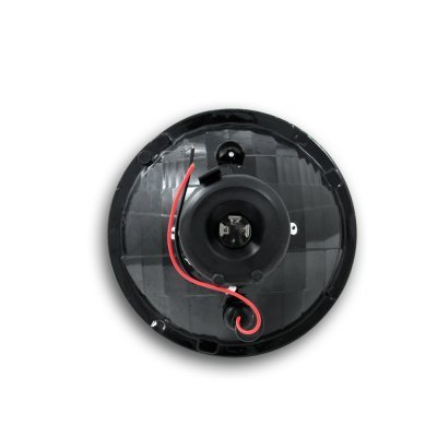 Chevy Blazer 1969-1979 Black Projector Style Sealed Beam Headlight Conversion