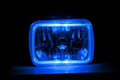 GMC Pickup Truck 1982-1987 7 Inch Halo Sealed Beam Headlight Conversion