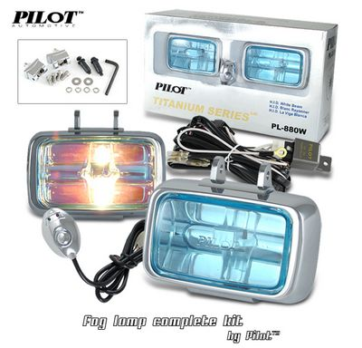 Pilot Titanium Fog Light Kit