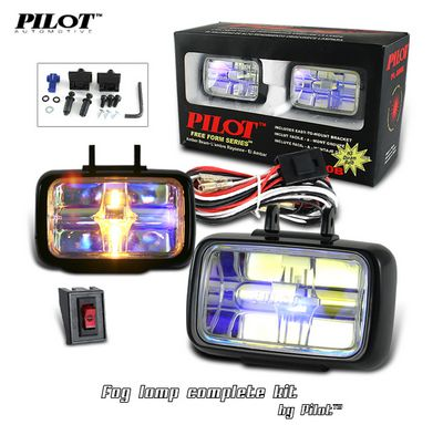 Pilot Free Form Fog Light Kit