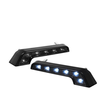 Black MB Style LED DRL Daytime Running Lights