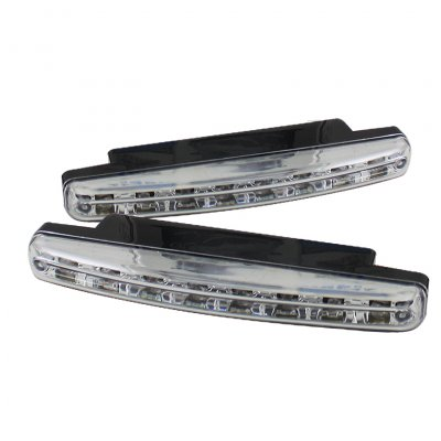 Clear LED DRL Daytime Running Lights