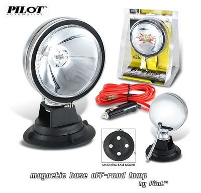 Pilot Cyber White Magnetic Base Driving Light