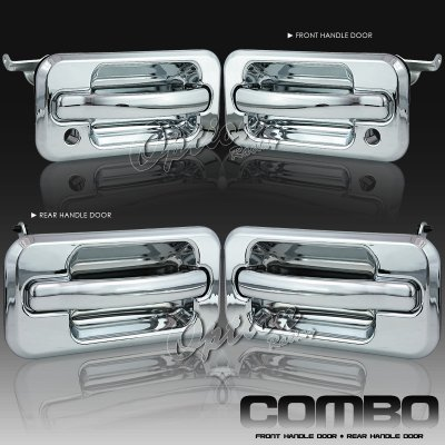 Hummer H2 2003 2009 Chrome Door Handles Set A1016bmf205