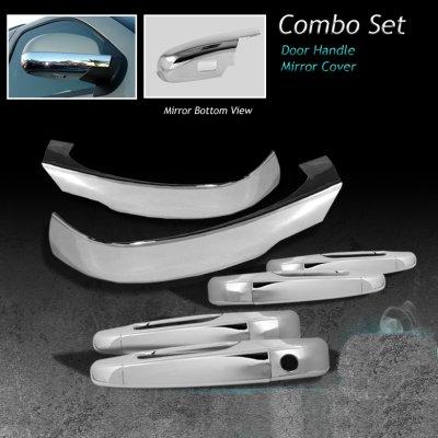 Gmc Yukon 2007 2017 Chrome Door Handleirrors Covers A103kwyp205 Topgearautosport