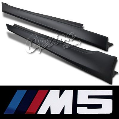 BMW E60 5 Series 2003-2009 M5 Style Side Skirts