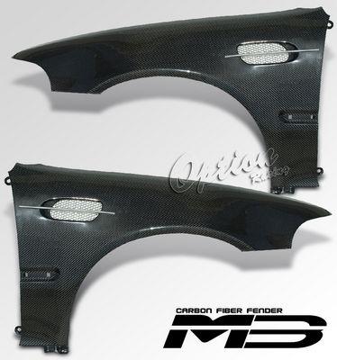 Honda Civic Sedan 1992-1995 Carbon Fiber M3 Style Fender