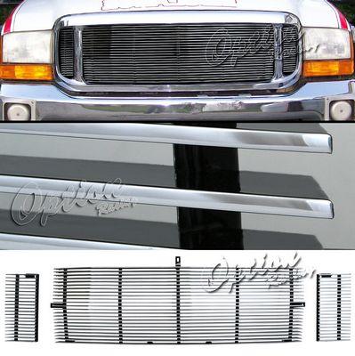 Ford F250 Super Duty 1999-2004 Aluminum Billet Grille Insert