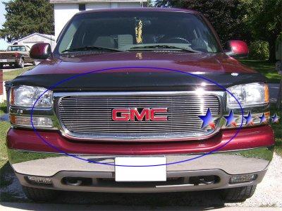 gmc sierra denali 2002 2006 aluminum billet grille insert a127obmd209 topgearautosport gmc sierra denali 2002 2006 aluminum billet grille insert