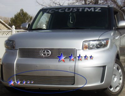 scion xb 2008 2010 aluminum lower bumper billet grille. Black Bedroom Furniture Sets. Home Design Ideas