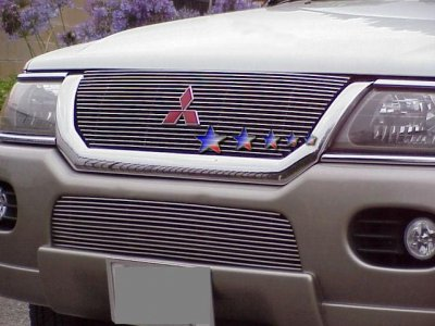 Wonderful Mitsubishi Montero Sport 2001 2004 Aluminum Billet Grille Insert