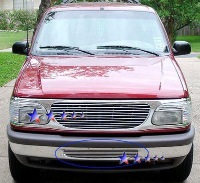 Ford Explorer 1995 1998 Polished Aluminum Lower Per Billet Grille Insert A127doin209 Topgearautosport
