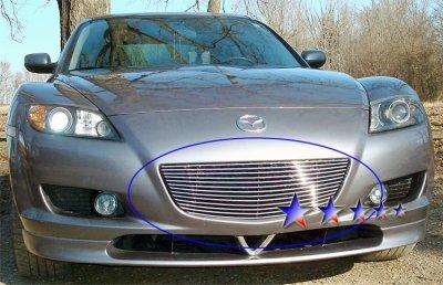 2007 Mazda RX8 Aluminum Billet Grille Insert
