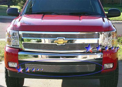 Chevy Silverado 2007-2013 Lower Bumper Billet Grille Insert