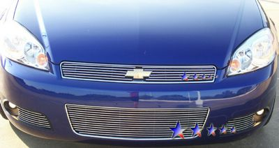 Chevy Impala 2006-2012 Polished Aluminum Lower Bumper Billet Grille Insert