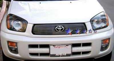 Toyota Rav4 2001 2003 Aluminum Billet Grille Insert