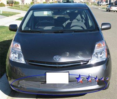 Toyota Prius 2006-2009 Aluminum Lower Bumper Billet Grille Insert