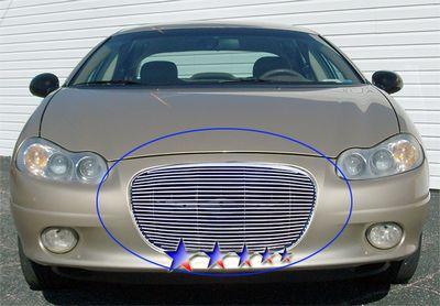 Chrysler Concorde 2002-2004 Polished Aluminum Billet Grille Insert