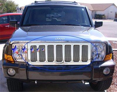 Jeep Commander 2006 2010 Aluminum Billet Grille Insert A127v6wf209 Topgearautosport