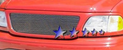 2002 Ford F150 Polished Aluminum Billet Grille Insert