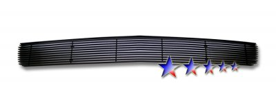 Chevy Silverado 2007-2013 Black Lower Bumper Billet Grille Insert