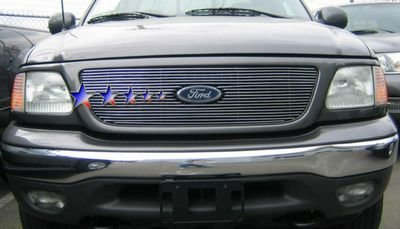 ford f150 1999 2003 polished aluminum billet grille insert F150 Aftermarket Grill ford f150 1999 2003 polished aluminum billet grille insert