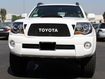 Toyota Tacoma 2005 2017 Black Halo Projector Headlights And Led Tail Lights