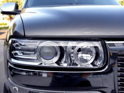 Chevy Suburban 2000-2006 Clear Projector Headlights and Bumper Lights